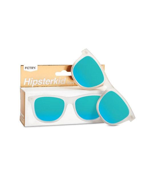 Mustachifier Óculos de Sol 0-2 Anos Gold Frost