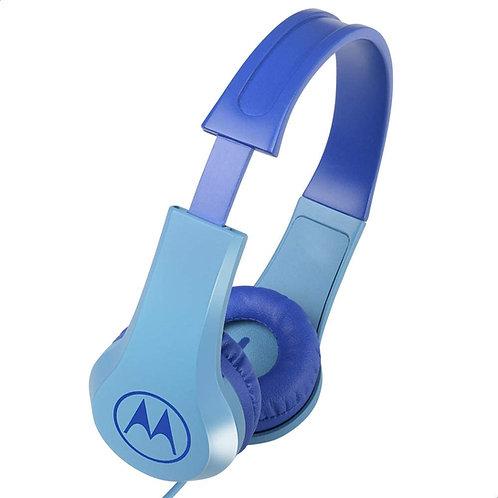 Motorola Squads 200 Auscultadores Azul