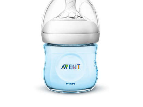 Philips Avent Biberão Natural Azul 125ml