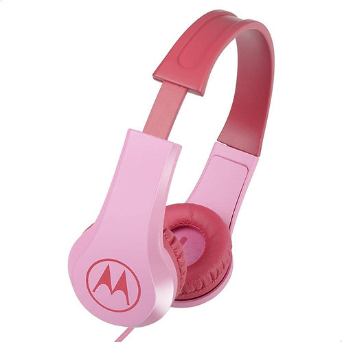 Motorola Squads 200 Auscultadores Rosa