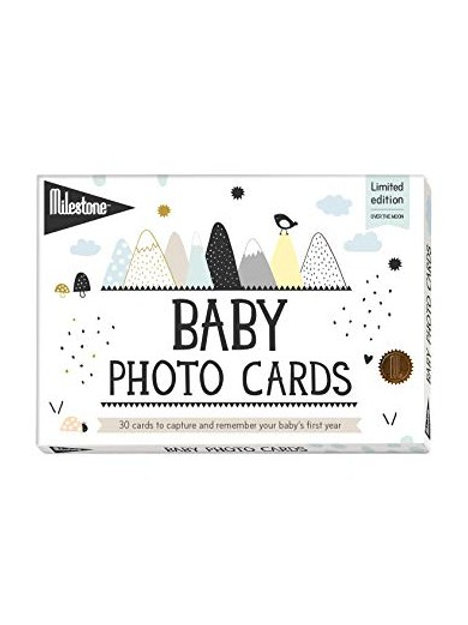 Milestone Baby Photo Cards Português