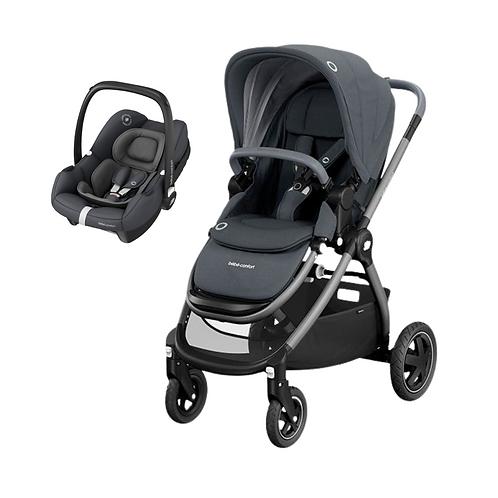 Bebé Confort Duo Adorra + Tinca Essential Graphite