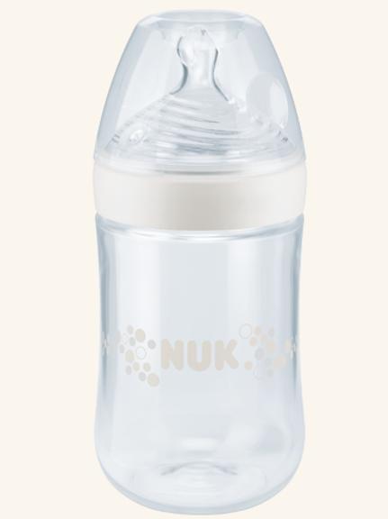 NUK Biberão Vidro Nature Sense com Tetina Silicone 240ml
