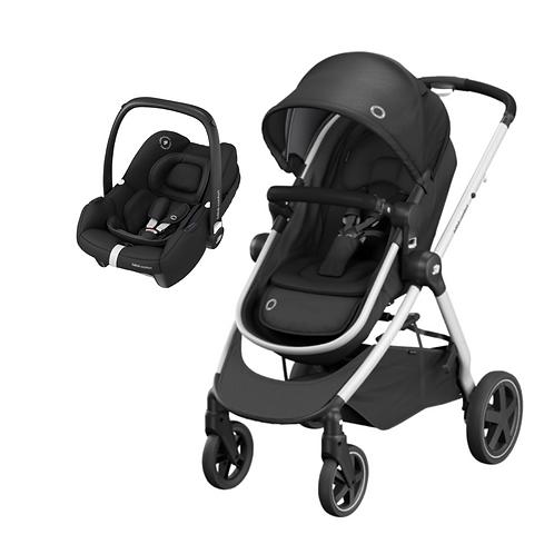Bebé Confort Duo Zelia + Tinca Essential Black