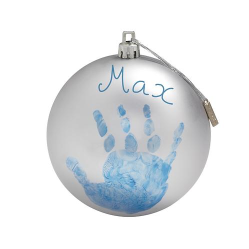 Baby Art Bola de Natal Personalizável