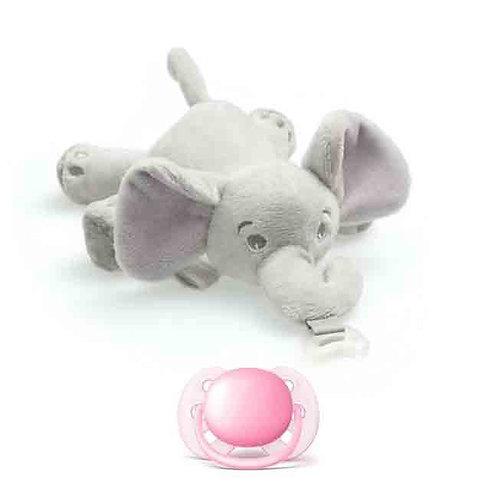 Philips Avent Shnuggle Elefante Ultra Soft Rosa 0-6M
