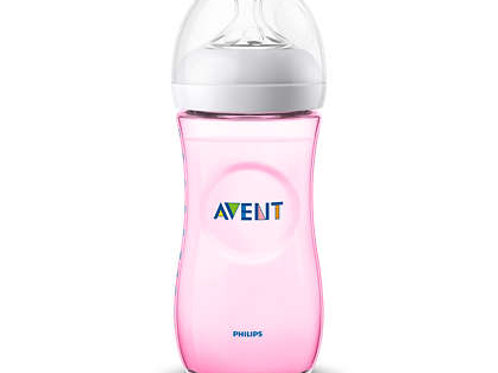 Philips Avent Biberão Natural Rosa 330ml