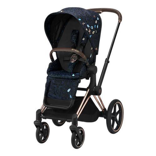 Cybex Priam Rose Gold + Seat Pack Jewels of Natures