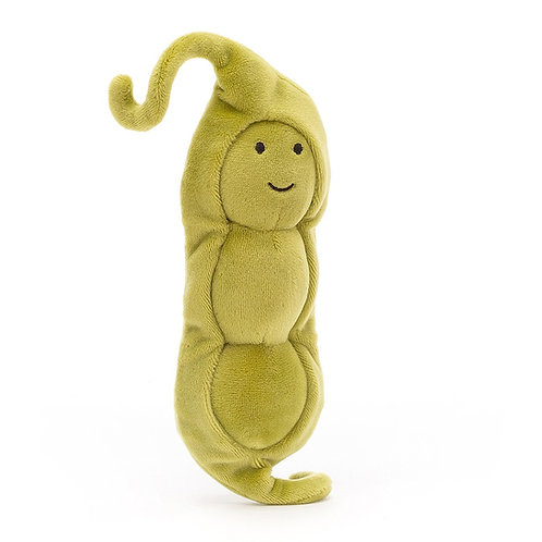 Peluche Vivacious Vegetable Pea