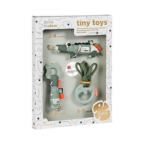 DonebyDeer Primeiros Brinquedos Caixa Presente Tiny Tropics