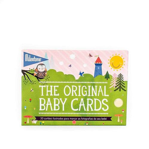 Milestone Baby Cards Português