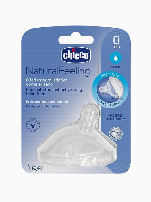 Chicco Tetina Natural Feeling 0M+