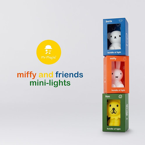 Candeeiro Miffy, Boris e Lion - Bundle of Light
