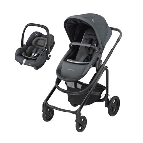 Bebé Confort Duo Lila CP + Tinca Essential Graphite