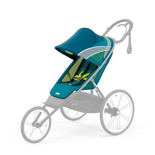 Cybex Chassi Preto Com Detalhe Preto + Seat Pack