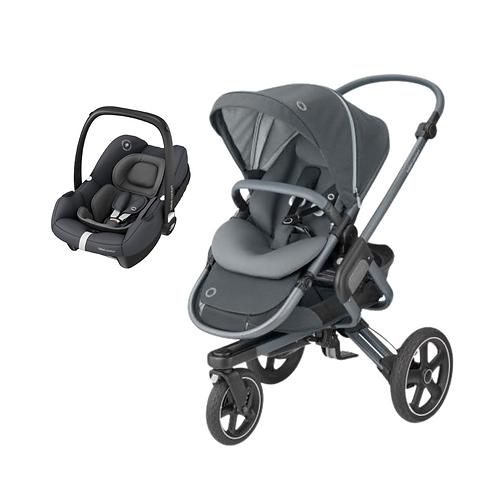 Bebé Confort Duo Nova 3 Rodas + Tinca Essential Graphite