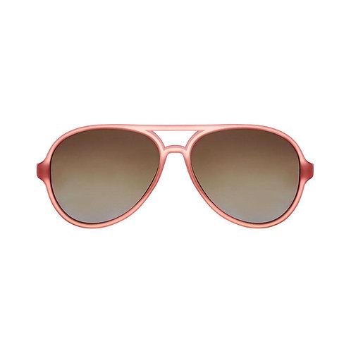 Mustachifier Óculos de Sol 0-2 Anos Aviador Gold Rosé