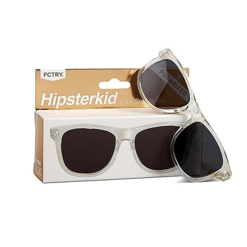 Mustachifier Óculos de Sol 0-2 Anos Gold Clear