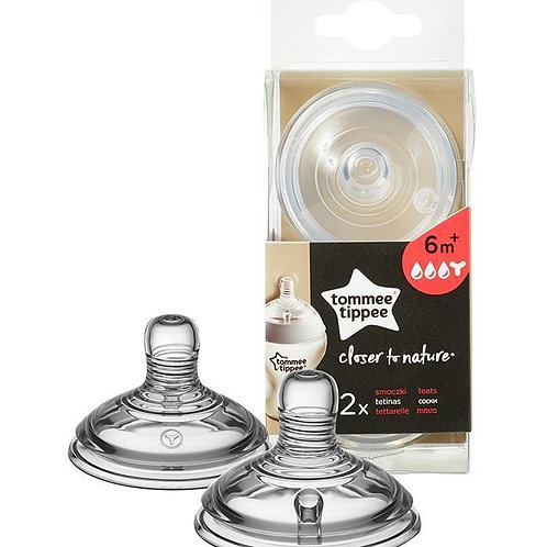 Tommee Tippee Tetinas Closer to Nature Fluxo Papa Y