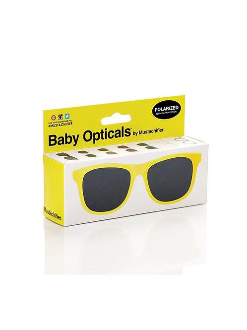Mustachifier Óculos de Sol 0-2 Anos Amarelo
