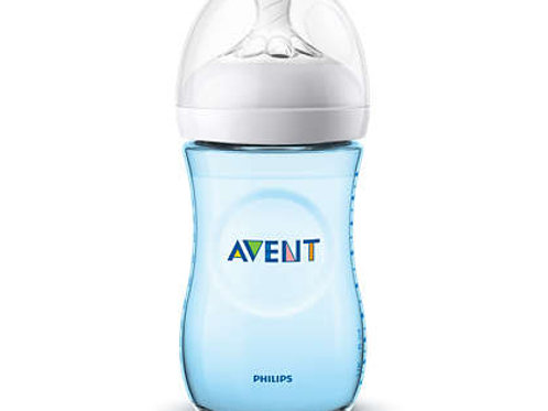 Philips Avent Biberão Natural Ultra Suave Azul 260ml