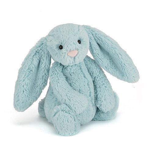 Peluche Bashfull Aqua Bunny