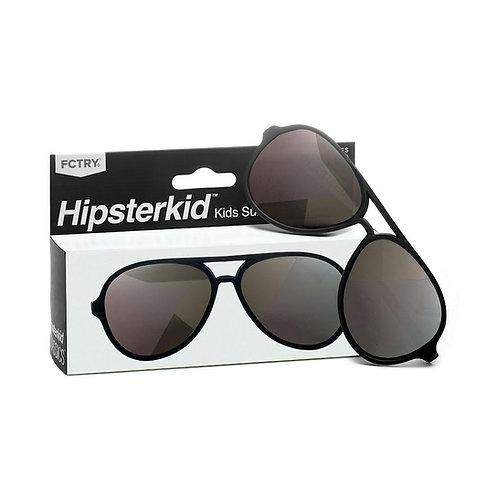 Mustachifier Óculos de Sol 0-2 Anos Aviador Preto
