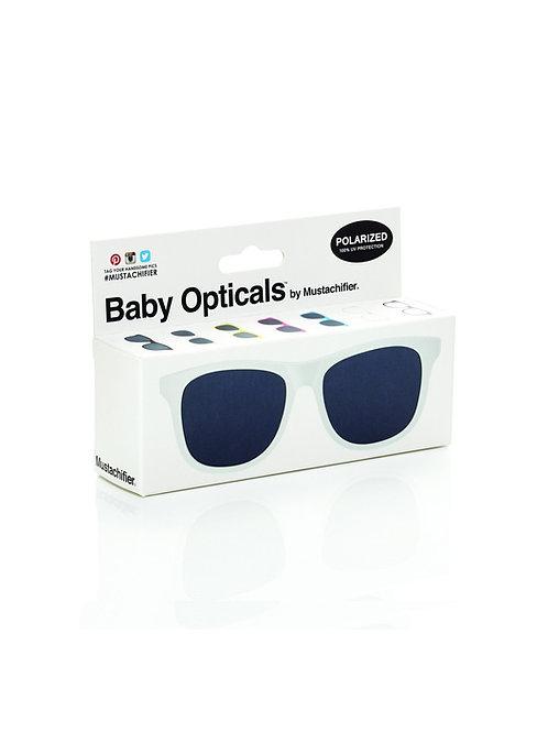 Mustachifier Óculos de Sol 3-6 Anos Branco