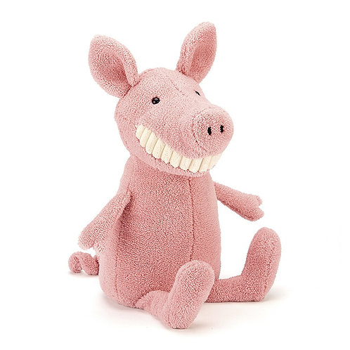 Peluche Toothy Pig