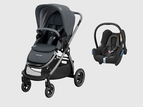 Bebé Confort Adorra + Maxi Cosi Cabriofix