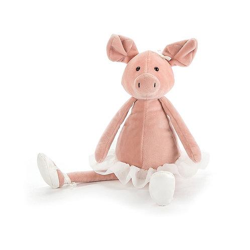 Peluche Dancing Darcy Piglet