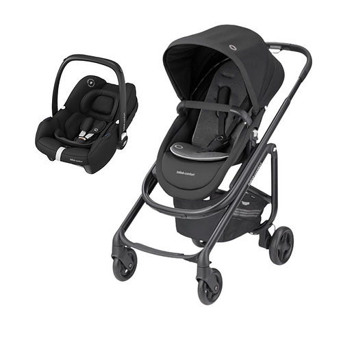 Bebé Confort Duo Lila SP + Tinca Black