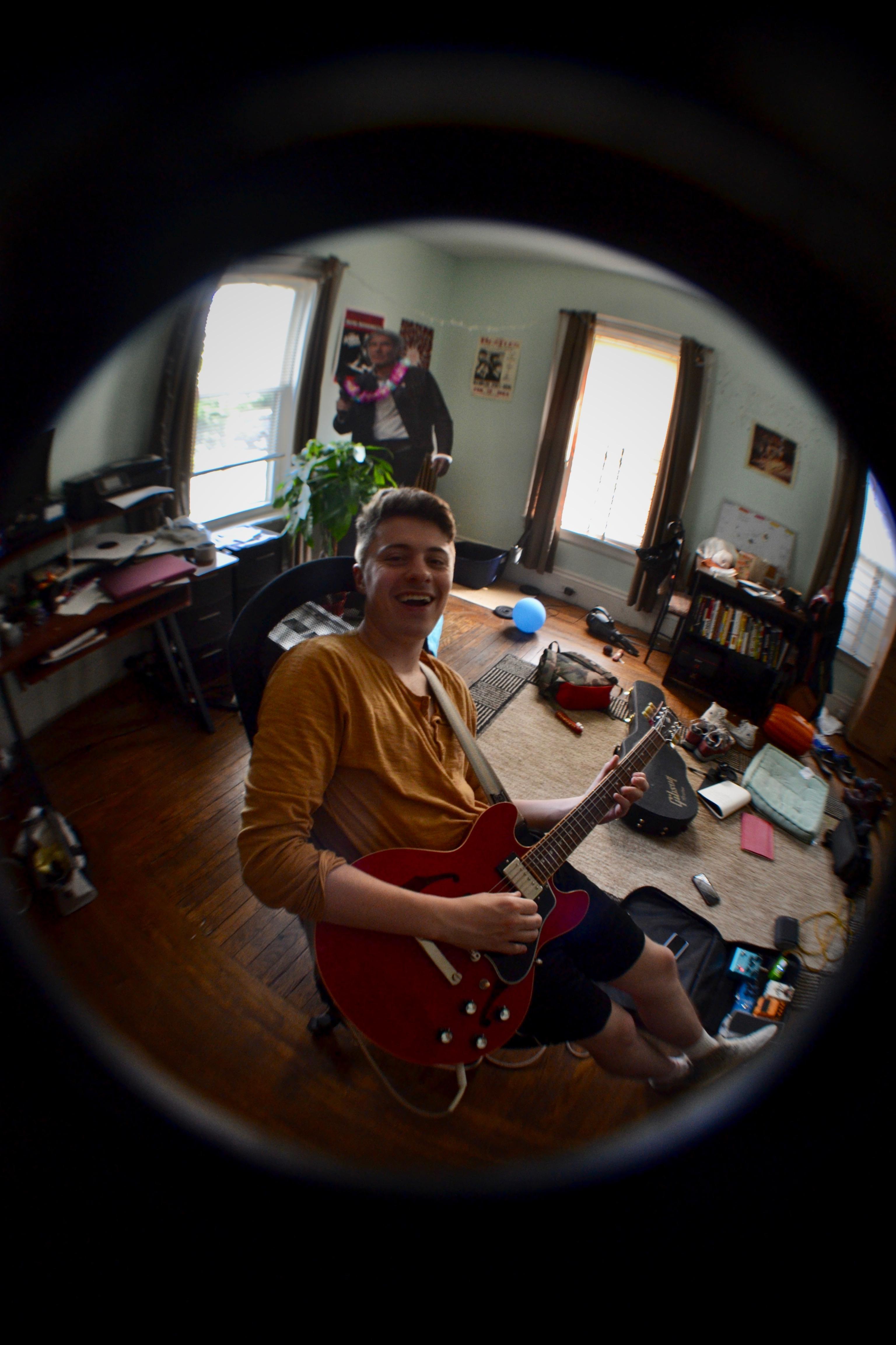 John at practice