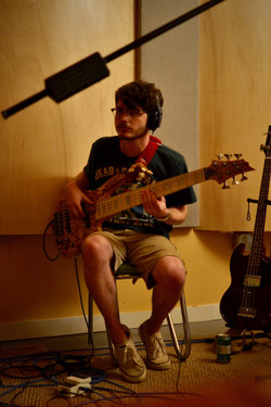 Connor on the bass