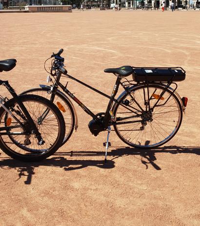 Electrification: Vélo Route MBK Electrique