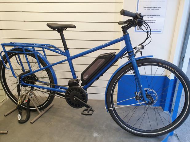Vélo électrique Binova Long Tail