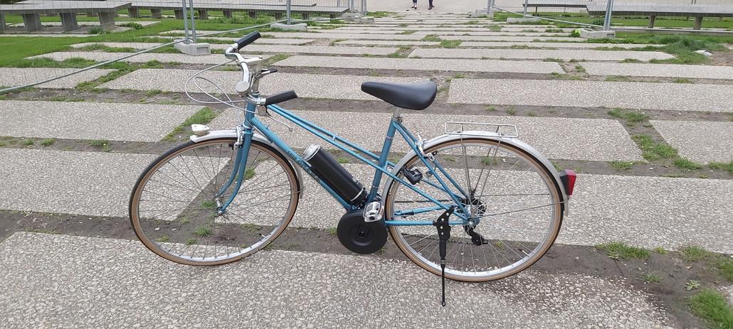 Electrification: Vélo Route Vintage SIFEM Electrique