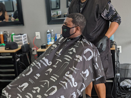 The Barber Chair- Braxton the Barber
