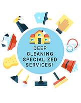 Deep Cleaning Services Badge