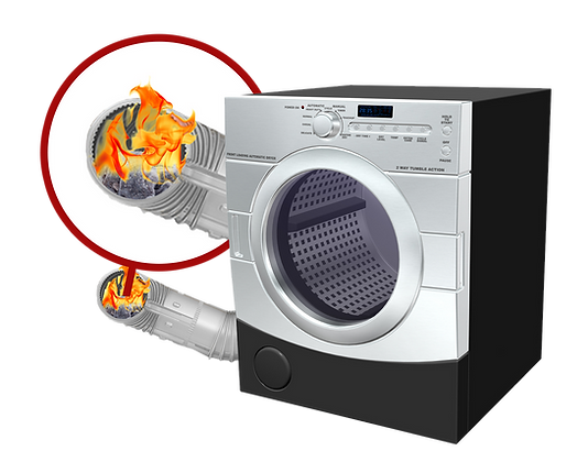 dryer vent cleaning prevents fire