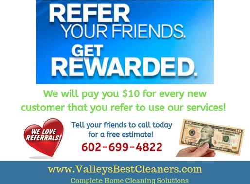Refer your friends & get rewarded!