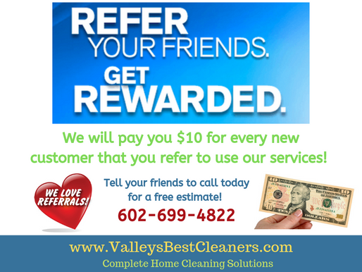 Refer your friends & get rewarded!