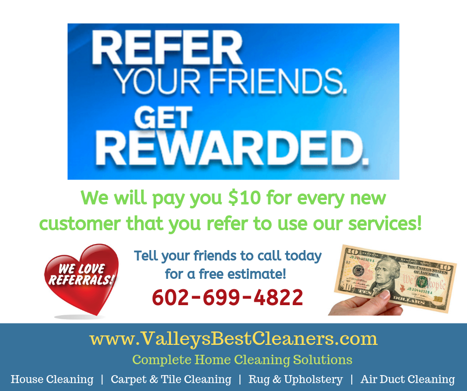 Customer referral bonus program