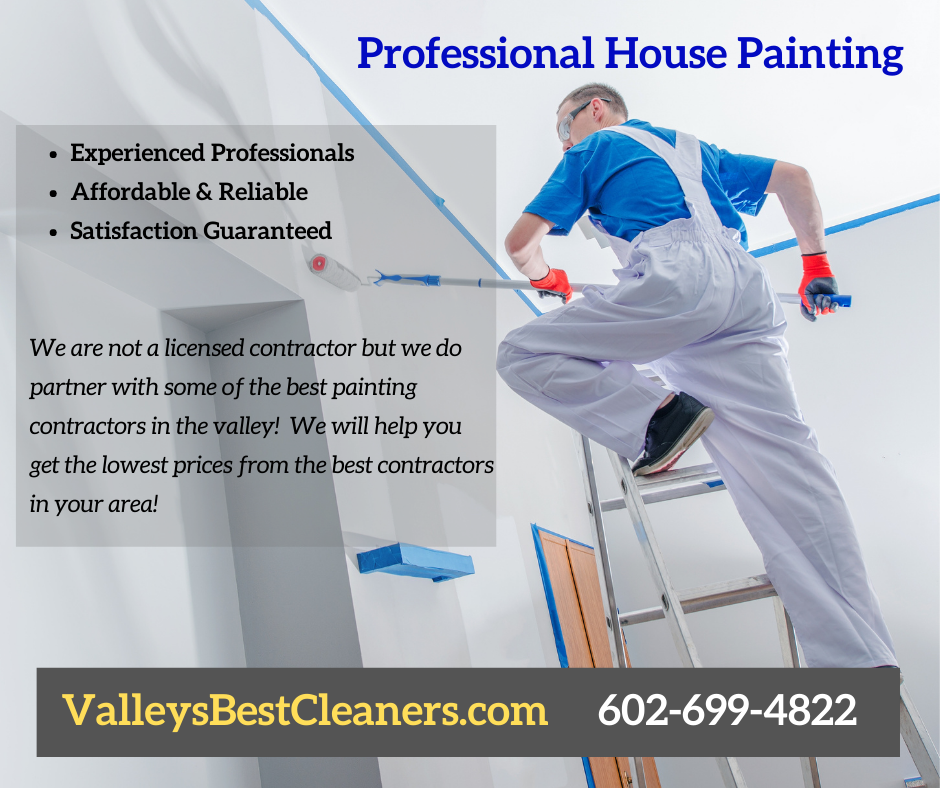 House Painting Professional working in Peoria AZ