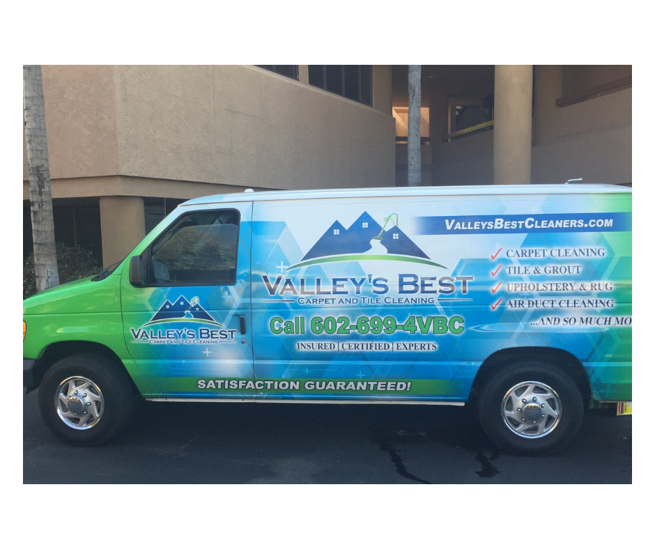 Valley's Best Cleaners Truck-Mounted Steam Cleaning Machine
