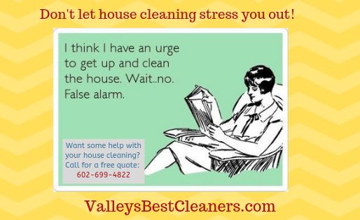 Don't stress, let us clean up the mess!