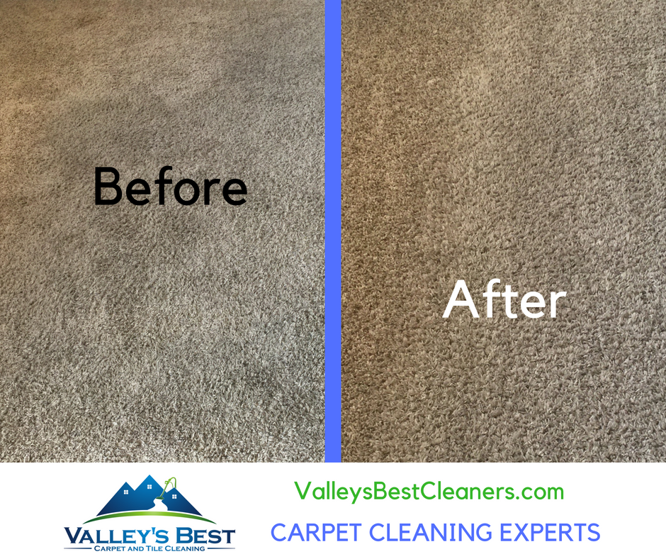 Carpet looks like new after service by ValleysBestCleaners.com