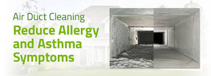 air duct cleaning service will reduce allergy symptoms
