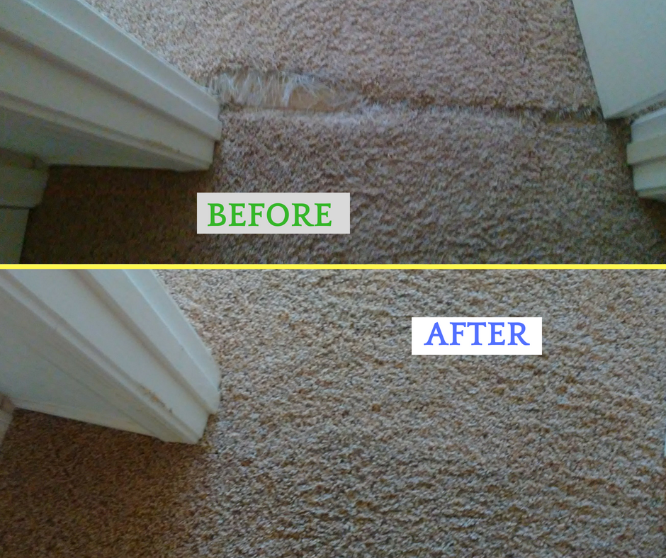Carpet Repair Experts!  www.valleysbestcleaners.com