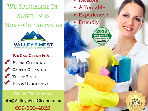 Complete Move-In & Move-Out Cleaning Services